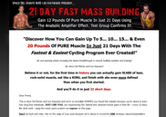 21 day fast mass muscle program