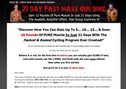 21 day fast mass muscle program