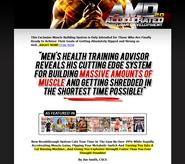accelerated muscular development program