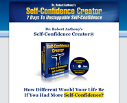 self confidence creator robert anthony