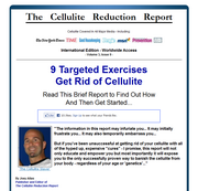the cellulite reduction report