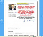 Amazing cover letters jimmy sweeney - Term paper
